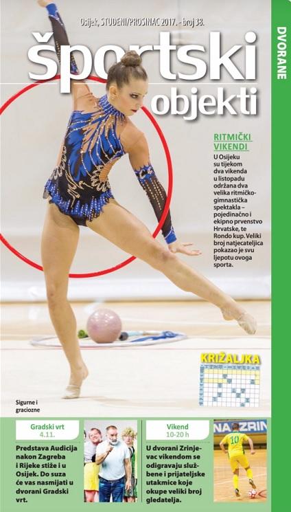 Časopis Športski objekti - broj 38.